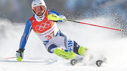 BBC Two Day 4: Alpine Combined Slalom and Ice Hockey