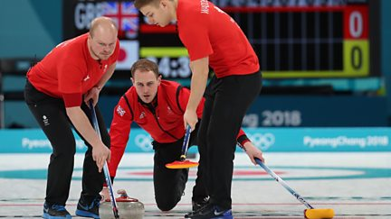 BBC Two Day 6: GB v Japan in Men's Curling and Ice Hockey