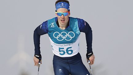 BBC Two Day 7: Andrew Musgrave for GB in 15km Cross-Country Skiing