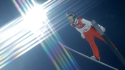 BBC Two Day 7: Women's Skeleton second run and Ski Jumping