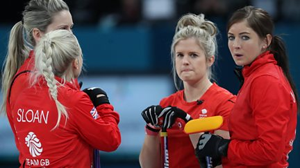 BBC Two Day 9: GB in Women's Curling Action