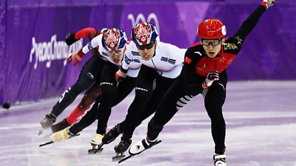BBC One Day 13: Short Track Speed Skating and Ice Hockey