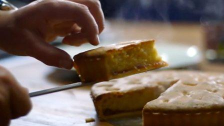Frangipane tart with custard