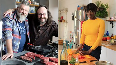The Hairy Bikers and Lorraine Pascale: Cooking the Nation's Favourite Food