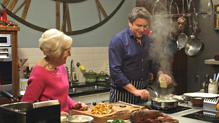 Bbc food recipes from programmes 6 christmas presents mon 14th dec original broadcast date bbc one broadcast channel james martin presenter forumfinder Choice Image