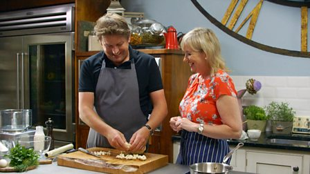 Bbc food recipes from programmes 6 show off suppers mon 11th jan original broadcast date bbc two broadcast channel james martin presenter forumfinder Choice Image
