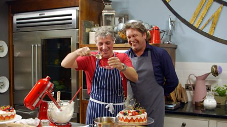 Bbc food recipes from programmes 9 clever cooking from james martin home comforts series 3 9 clever cooking james martin serves up dishes forumfinder Choice Image