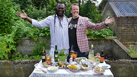 Bank Holiday BBQ with Olly Smith and Levi Roots