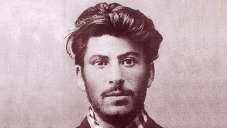 Photograph of Stalin as a young man