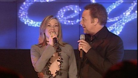 Tom Jones and Cerys Matthews Christmas 1999