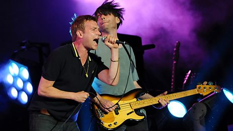 Glastonbury - Blur