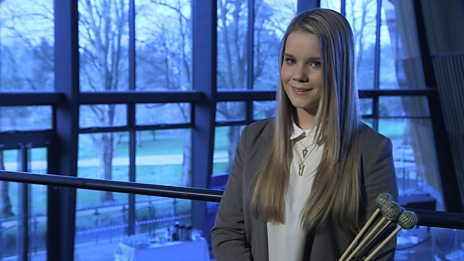 Jess Wood performs Asventuras by Alexei Gerassimez for the BBC Young Musician 2014 Percussion Category Final