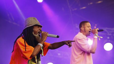 Jurassic 5 on the West Holts stage