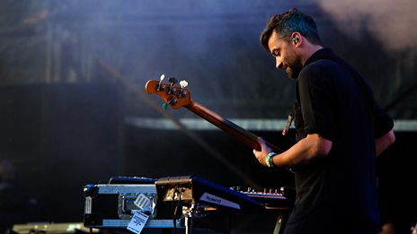 Bonobo on the West Holts stage