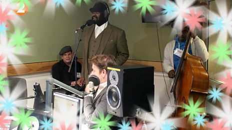 The sublime Gregory Porter performs the Christmas classic, 'A Cradle In Bethlehem'