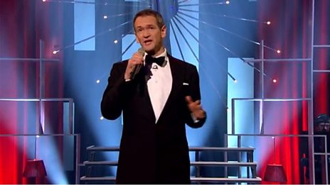 Alexander Armstrong sings 'You Make Me Feel So Young'