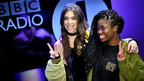 """I love him, he's amazing"" Dua Lipa on working with Miguel"