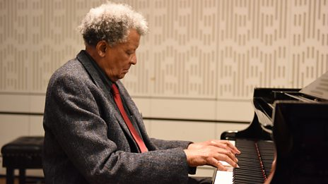 Listen to Abdullah Ibrahim in session for World on 3