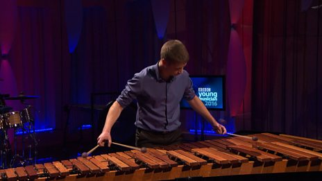 Hristiyan Hristov performs Iljas by Zivkovic for BBC Young Musician 2016 Percussion Category Final