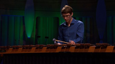 Joe Parks performs Two Movements for marimba by Tanaka for BBC Young Musician 2016 Percussion Category Final