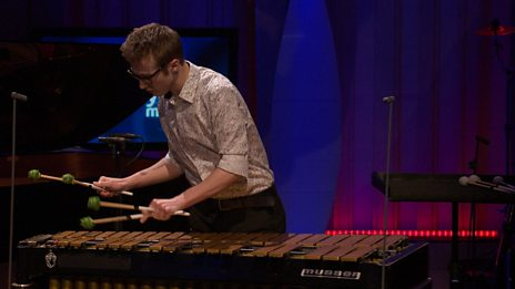 Andrew Woolcock performs Piazonore by Gerassimez for BBC Young Musician 2016 Percussion Category Final