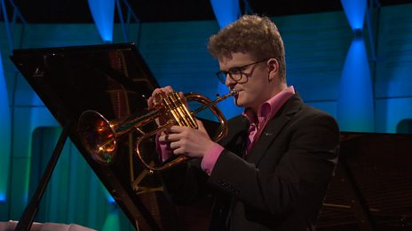 Zak Eastop performs Escapades, 1st movt by John Williams for BBC Young Musician 2016 Brass Category Final