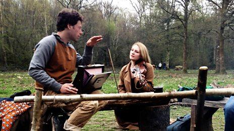 Alice Zawadzki sings with a nightingale