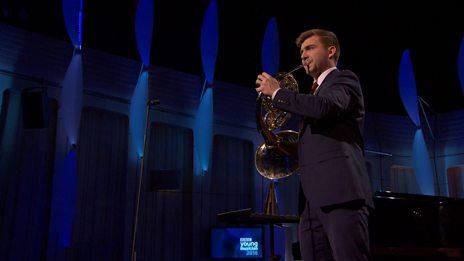 Ben Goldscheider performs Concert Etude by Salonen for BBC Young Musician 2016 Semi Final