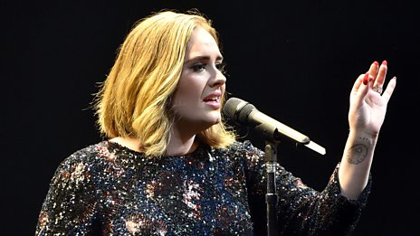 What's it like to write a song with Adele?