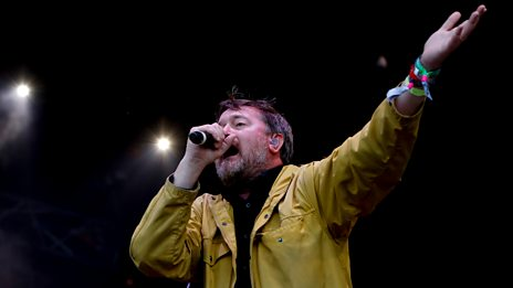 Guy Garvey - Glastonbury 2016 Highlights