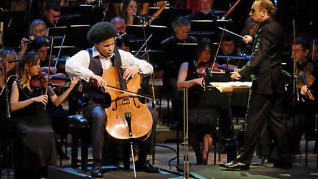 Winner Sheku Kanneh-Mason performs Shostakovich Cello Concerto no.1