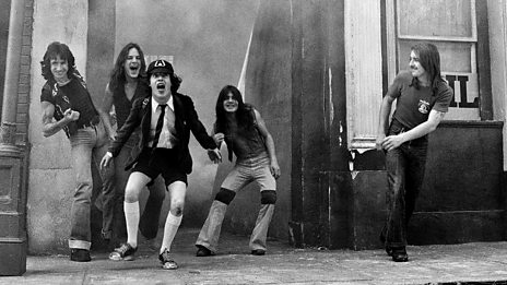Johnnie Walker pays tribute to AC/DC's Malcolm Young