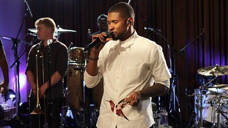 Live Lounge - Usher Live in LA