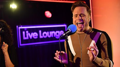 Live Lounge - Olly Murs