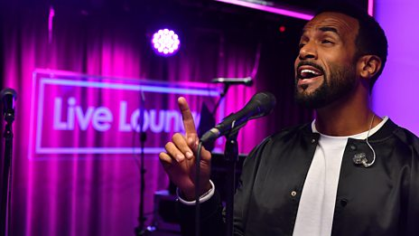 Live Lounge - Craig David: Live Lounge Special