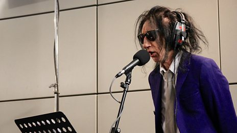 Watch John Cooper Clarke and Hugh Cornwell perform Love Potion #9 for 6 Music Live