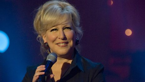 Bette Midler is very nervous about the US Election...