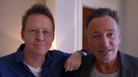 Bruce Springsteen with Simon Mayo