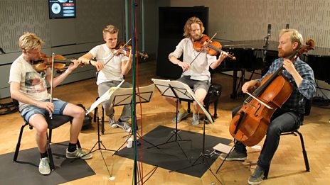 A pair of foot-tapping folky tunes from the Danish String Quartet