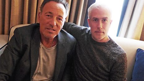 """This may well be my swan song"" Bruce Springsteen chats with 6 Music's Matt Everitt"