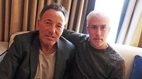 If Bruce Springsteen could only have one guitar, one car and one album, what would they be?