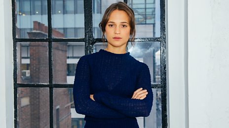 "Alicia Vikander: ""It felt like being back in the beginning of time...It was a gift"""
