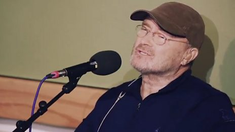 Watch Phil Collins cover Knockin' On Heaven's Door