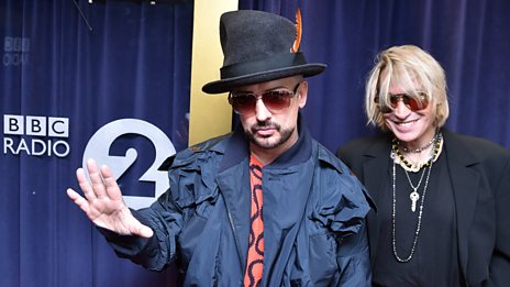 "Boy George on Marilyn: ""My friend's back in my life and that's wonderful"""