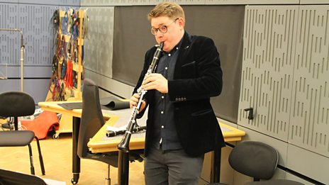 Beautiful Brahms: Mark Simpson and Richard Uttley perform his Clarinet Sonata live on In Tune