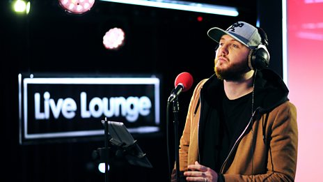 Live Lounge - James Arthur