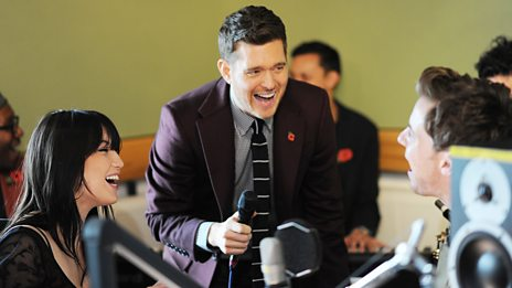 Michael Bublé covers Dean Martin's Sway with a little help from Daisy Lowe and Luke Treadwell