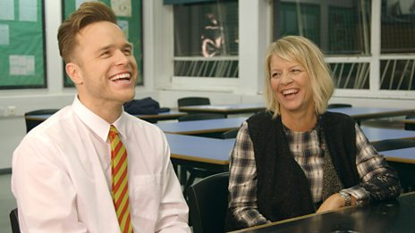 Popstar Parents Evening - Olly Murs
