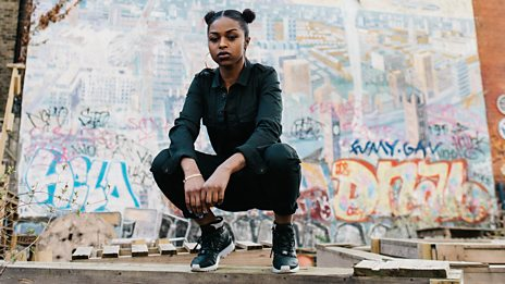 Nadia Rose gets the party started with Annie Mac on the BBC Introducing stage