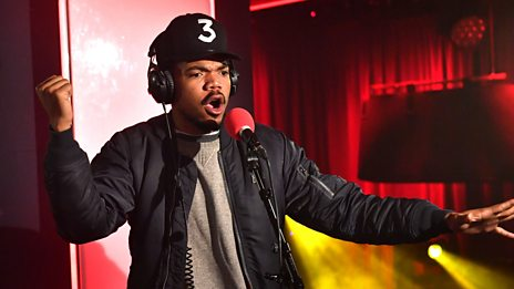 Live Lounge - Chance the Rapper
